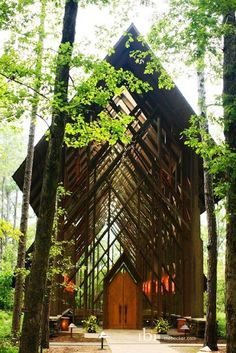 Thorncrown Chapel, Arkansas.