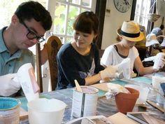Annie Sloan CHALK PAINT workshop on 10th June, 2015.