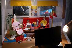 malin koort's fascinating world of paper people – Jama's Alphabet Soup Kirigami, Paper Art, Paper Crafts, Cardboard Sculpture, Paper People, Children's Book Illustration, Cool Artwork, Amazing Artwork, Altered Art