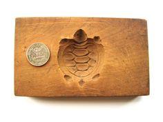 Vintage Japanese Kashigata Mold Turtle by VintageFromJapan on Etsy