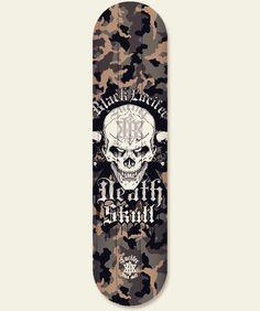 Black lucifer death skull.  Skateboard' deck graphic design. Extreme character design. Designed by doldol. www.graphicer.co.kr.  #graphicdesign #deck #skateboard #snowboard #sk8 #character #design #longboard #sticker #skin #mtb #bike #monster #스케이트보드 #skull #스케이트보드디자인 #스케이트보드스티커 #그래피커 #타투 #캐릭터디자인 #스캡 #surf #서핑 #graffiti #sports #pattern #bike #tattoo #doldoldesign #lucifer #해골