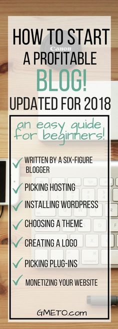 How to start a blog for beginners, even when you have no idea how to blog. #makemoneyblogging #howtostartablog #startablog