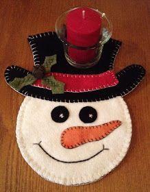 Wool and Felt Nails american nails Penguin Ornaments, Snowman Christmas Ornaments, Christmas Tree Decorations, Christmas Tree Ornaments, Holiday Decor, Felt Snowman, Wool Applique, Handmade Felt, Homemade Christmas