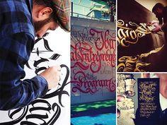 Art & Colorificio San Marco - #Gep #oro #rame #lettering #streetart #artist #colorificiosanmarco #sanmarcospa