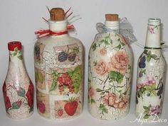 Resultado de imagem para objetos de vidro decoradas natal