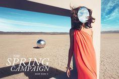 DVF Spring 2012 Ad Campaign - A PIECE of TOAST // Lifestyle + Fashion Blog // Texas + San Fran