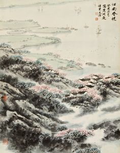 song wenzhi blossoms in jiangnan | landscape | sotheby's hk0392lot6br54es