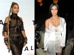 """In his recent Jay Z-focused dis diatribe, Kanye West complained that Hov doesn't make an effort to """"bring the kids by the house,"""" among other things. This week, an insider clarified to the New York Post that the bad blood between Yeezus and Jay boils down to Beyonce's """"dislike"""" Kanye's wife, Kim Kardahian West. """"Beyoncé has never genuinely liked Kim,"""" a source close to Kim reportedly told the tab. """"She's mostly tolerated her because of their husbands' friendship and [their] mutual friends…"""