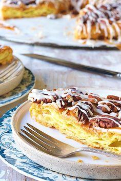 Butter-Pecan Kringle  Recipe