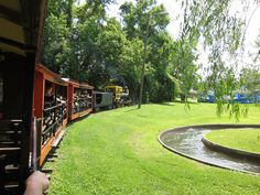 A view from the Train Ride at Camden Park, West Virginia's only amusement park—over 100 years old (located in my hometown Huntington) Huntington West Virginia, Camden Park, Ohio River, Train Rides, Amusement Park, Trains, Heaven, Photos, Pictures