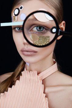 Magazine: Hunger TV Makeup: Heidi North Photography: Tré & Elmaz Model: Ellie Leith