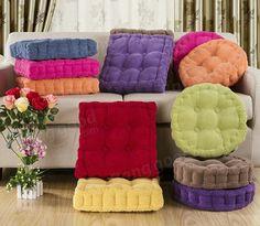 Мягкие круглые Утолщенные волокна Подушка сиденья коренастый Домашний диван на офисное кресло Подушка пола при вашем заказе на banggood
