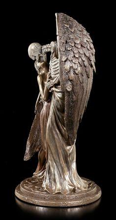 Angel of Death Figurine - Sweet Kiss of Death - bronzed Death Art, Kiss Of Death, Angel Of Death, Mermaid Drawings, Art Drawings, Up Imagenes, La Danse Macabre, Crow Skull, Sweet Kisses