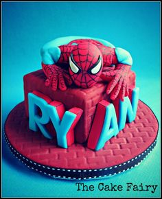 awesome spiderman cake!