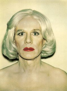 Andy Warhol (August 6, 1928 – February 22, 1987) was an American artist who was a leading figure in the visual art movement known as pop art. His works explore the relationship between artistic expression, celebrity culture and advertisement that flourished by the 1960s. After a successful career as a commercial illustrator, Warhol became a renowned and sometimes controversial artist. Andy Warhol - Self-portrait in Drag, 1980