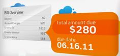 Video utility bills break down charges visually