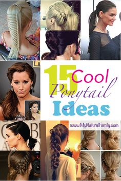 15 Cool Ponytail Ideas