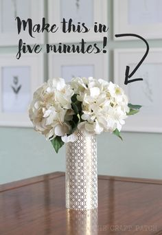 Easy, inexpensive party centerpieces