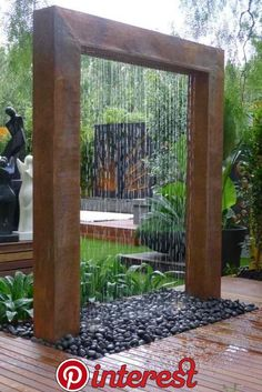 6 Sublime Tricks: Beautiful Backyard Garden Tips backyard garden boxes beautiful.Garden Ideas For Beginners Tips backyard garden inspiration awesome.Backyard Garden Pergola How To Build. Diy Garden, Dream Garden, Garden Art, Herb Garden, Garden Walls, Terrace Garden, Garden Tips, Courtyard Gardens, Garden Canopy