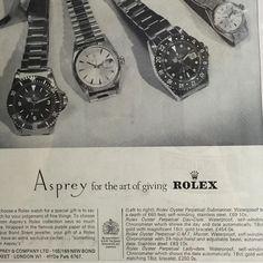 ROLEX Ad Asprey