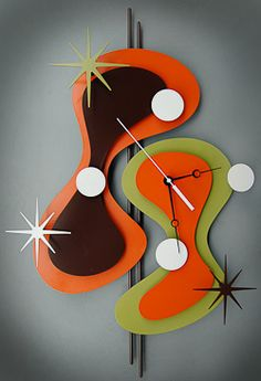 Atomic clocks by Stevo Cambronne