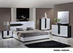 Merveilleux Global Furniture King Bed Zebra Grey U0026 White Hg