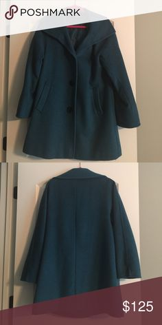 ⭐️Sale⭐️Gorgeous Teal Ellen Tracy Swing Coat!!! Amazing Deal!!!!! Really a Steal!!! Gorgeous Teal Ellen Tracy Swing Coat!!! Like New!!! Nordstrom Exclusive!!! Ellen Tracy Jackets & Coats