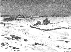 Theodor Kittelsen - Røst, 1890 (From the Island Roest) - Киттельсен, Теодор — Википедия