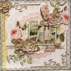Gabrielle Pollacco as Such a Pretty Mess for Webster's Pages; May 2013 Heritage Scrapbooking, Mixed Media Scrapbooking, Scrapbooking Ideas, Digital Scrapbooking, Scrapbook Page Layouts, Scrapbook Cards, Wedding Scrapbook, Scrapbook Sketches, Smash Book Pages