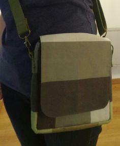 Coudre un sac pour homme Couture, Messenger Bag, Creations, Satchel, Diy, Tricot, Accessories, Bags, Bricolage
