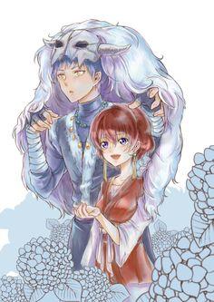 Yona & Shin Ah / Akatsuki no Yona