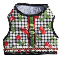 Cherry Harness-Vest for dog Dog Vest, Yorkie, Poppies, French Bulldog, Amanda, Sewing Projects, Cherry, Pets, Yorkies