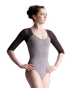 Buy Capezio Shrug Leotard and more Leotards at the Official Capezio Store. See full range of Capezio Leotards sizes & styles all available now. Ballet Fashion, Dance Fashion, Pullover Shirt, Neoprene, Ballet Clothes, Mode Boho, Dance Leotards, Long Sleeve Crop Top, Dance Costumes