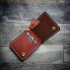 leather wallet leather billfold leather от leatherandstitches