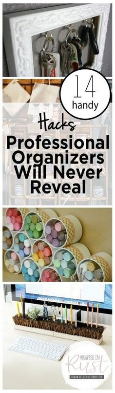 Did you know any of these organizing tips?