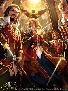 Artist: Woochul Lee aka atomiiii - Title: All for One, One for All - Card: Altruistic Red Musketeers
