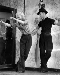 Fred Astaire and Ginger Rogers (love this pic!)