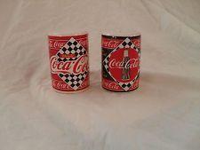 Enesco Coca Cola Salt & Pepper Shakers 1995