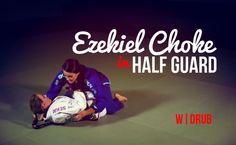 Ezekiel Choke   in Half Guard : #DRUB #BJJ #MMA #Grappling #Judo #Jiujitsu #Brazilianjiujitsu #WBJJ #WMMA #Muaythai #Kickboxing #Catchwrestling #Wrestling #Freestylewrestling