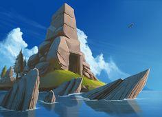 Entrance. ( The eagle reminds me Assassin's Creed saga ;D )