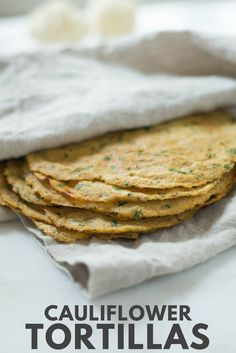 Cauliflower Tortillas   Learn how to make these low carb, high fiber Cauliflower Tortillas. These healthy tortillas are so awesome and the perfect grain-free tortilla substitute!   A Sweet Pea Chef #cauliflowerrecipes #cauliflowertortillas #homemadetortil High Fiber Low Carb, High Fiber Foods, Low Carb Tortillas, Homemade Tortillas, Califlower Tortillas, Tortilla Recipe, Cauliflower Recipes, Keto Bread, Low Carb Recipes