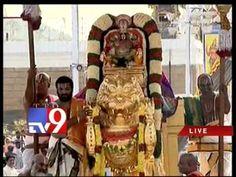 Lord Srinivasa Brahmotsavam in Tirupati