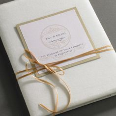 Black Silk Folder With Velvet Exterior And Large Pearl Brooch As Featured On Now Denniswisser Luxury Folio Wedding Invitations Pinterest
