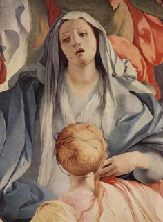 Detail from Jacopo Pontormo's Deposition From the Cross