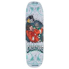 Creature Slapshot Everslick Skateboard Deck – Note: This option does not include griptape (choose another variation if you want… Skateboard Shop, Skateboard Decks, Creature Decks, Creature Skateboards, Creatures, Notes, Shapes, Kids, Children