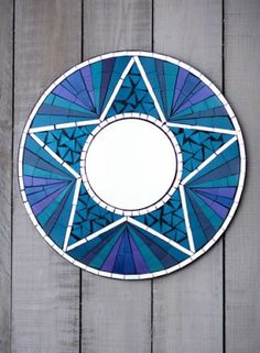 Manualidades Con Vidrio Roto Espejo Mosaico Manualidades