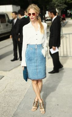 Vogue's Ten Best Dressed — Special Edition Best Dressed: Fall 2012 Couture. Poppy Delevingne.