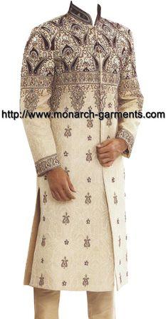 Sherwani, Mens Suits, Kaftan, Ethnic, Groom, Tunic Tops, Turbans, How To Wear, Wedding