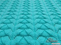 The pattern for knitting plaid photo # 1 Lace Knitting Patterns, Knitting Stiches, Stitch Patterns, Manta Crochet, Knit Crochet, Crochet World, Sewing Techniques, Design Your Own, Couture