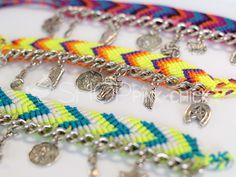 Cute friendship bracelet colour idea
